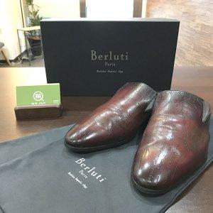 【ブランド出張買取】にて大阪のお客様からベルルッティの【Cyrus Oman(サイラス オマーン)】を買取