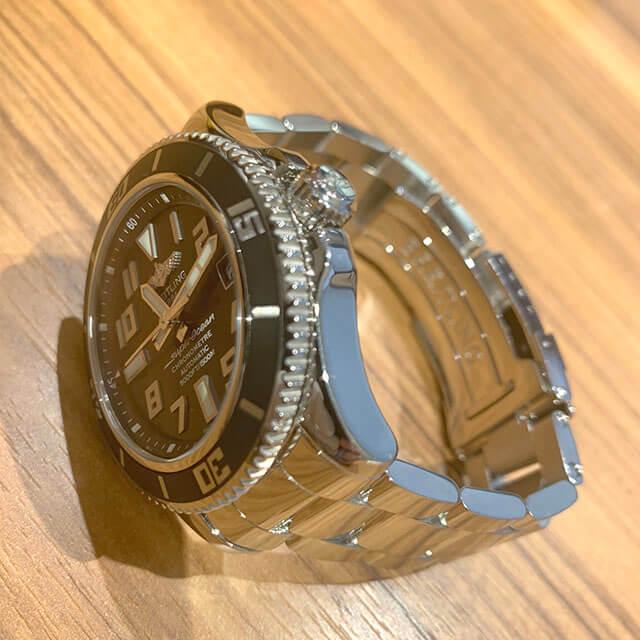 鴫野のお客様からブライトリングの腕時計【スーパーオーシャン】を買取_03