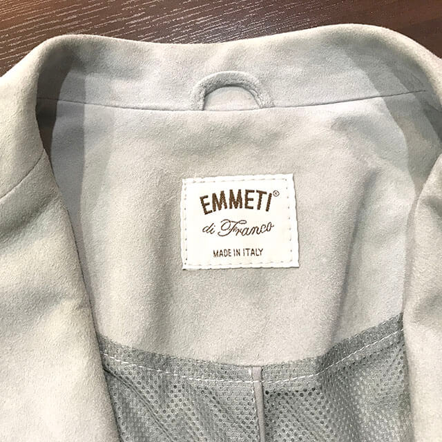 大阪のお客様から【EMMETI(エンメティ)】のジャケットを買取_03