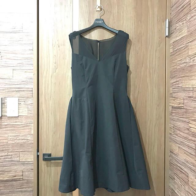 大阪のお客様からフォクシーニューヨークの【エクレール ドレス】を買取_01