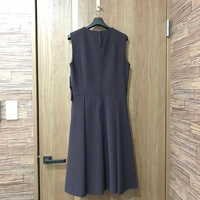 大阪のお客様からFOXEY NEW YORKの【レディシェイプ ノースリーブドレス】を買取_02