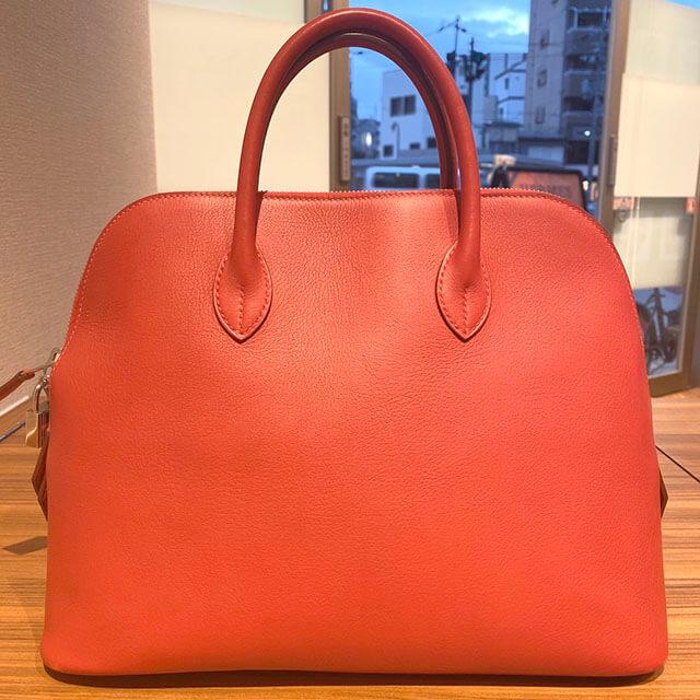 大阪のお客様からエルメスのバッグ【ボリード】を買取_02