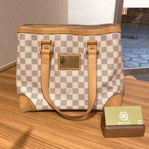 岸里のお客様からヴィトンのダミエアズールのバッグ【ハムステッドPM】を買取