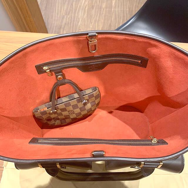 森ノ宮のお客様からヴィトンのダミエのバッグ【マノスクGM】を買取_04