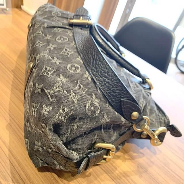 岸里のお客様からヴィトンのモノグラムデニムのバッグ【ネオカヴィMM】を買取_03