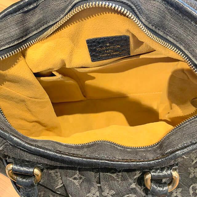 岸里のお客様からヴィトンのモノグラムデニムのバッグ【ネオカヴィMM】を買取_04