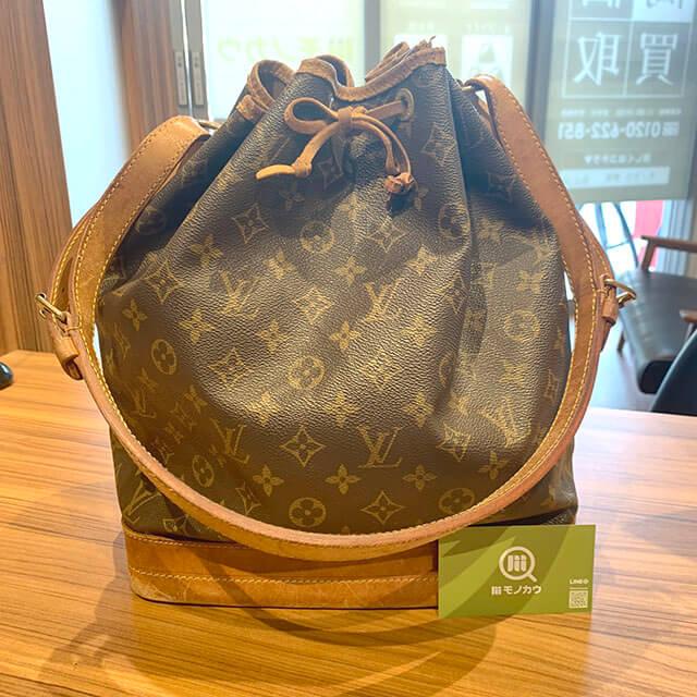 上本町のお客様からヴィトンの巾着バッグ【ノエ】を買取_01