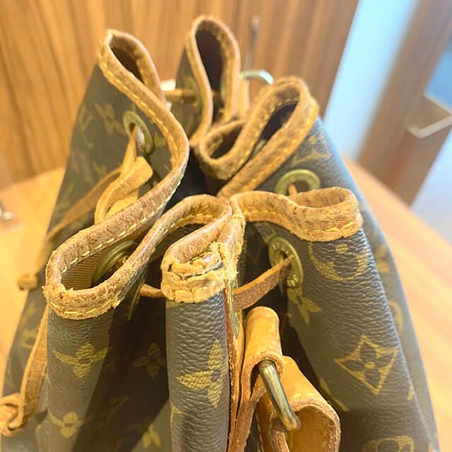 上本町のお客様からヴィトンの巾着バッグ【ノエ】を買取_02
