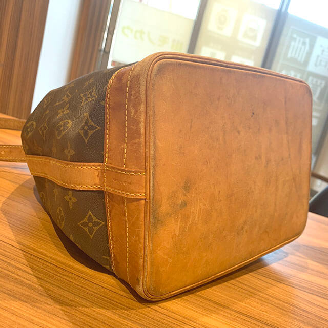 上本町のお客様からヴィトンの巾着バッグ【ノエ】を買取_03