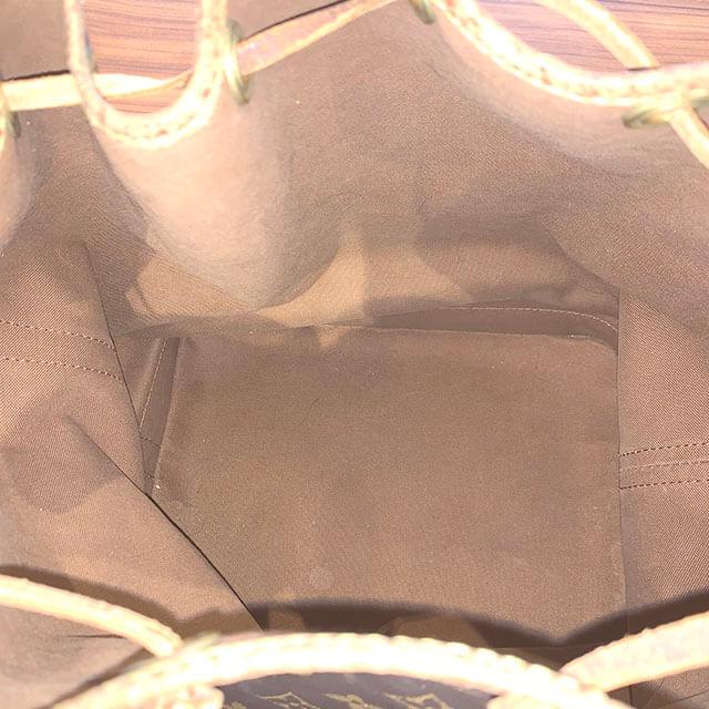 上本町のお客様からヴィトンの巾着バッグ【ノエ】を買取_04