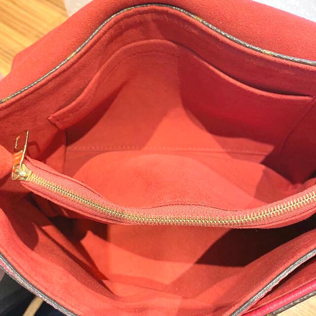 那覇のお客様からヴィトンのモノグラムのバッグ【パラス チェーン】を買取_04