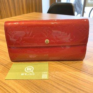 西九条のお客様からヴィトンのヴェルニの長財布【ポルトフォイユ・サラ】を買取