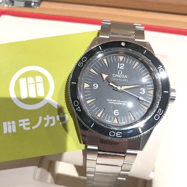 天王寺のお客様からオメガの腕時計【シーマスター】を買取_01