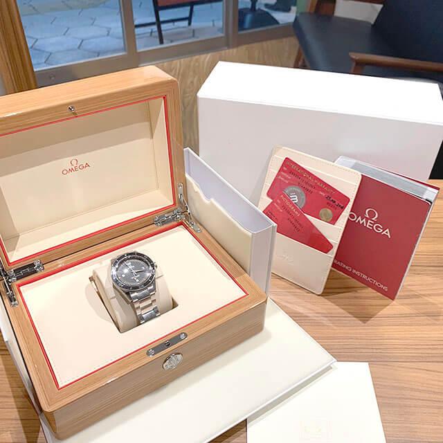 天王寺のお客様からオメガの腕時計【シーマスター】を買取_02