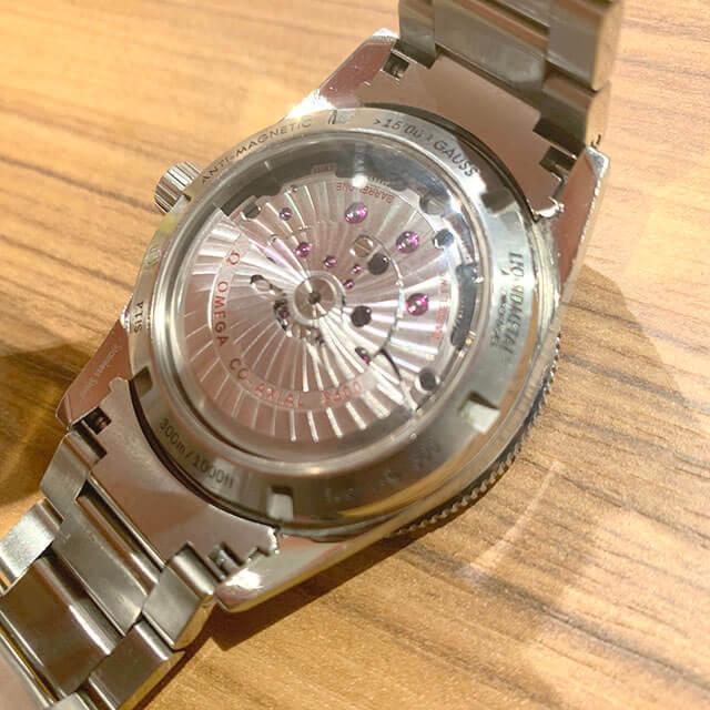 天王寺のお客様からオメガの腕時計【シーマスター】を買取_04