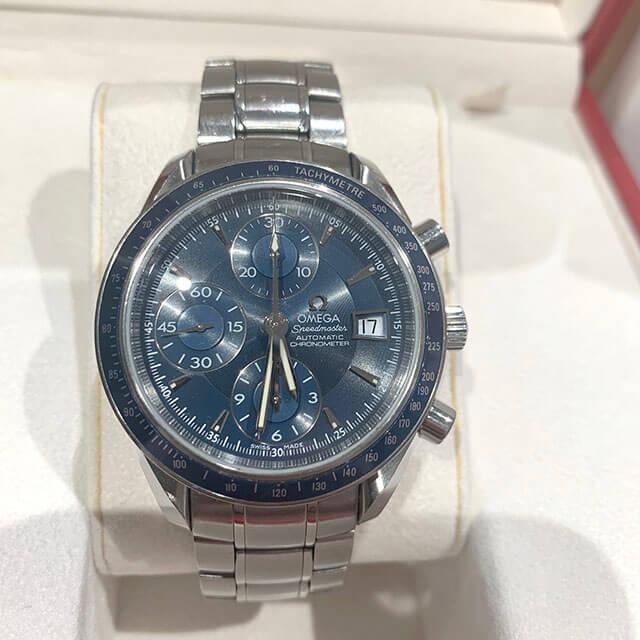 笠間のお客様からオメガの腕時計【スピードマスター】を買取_02