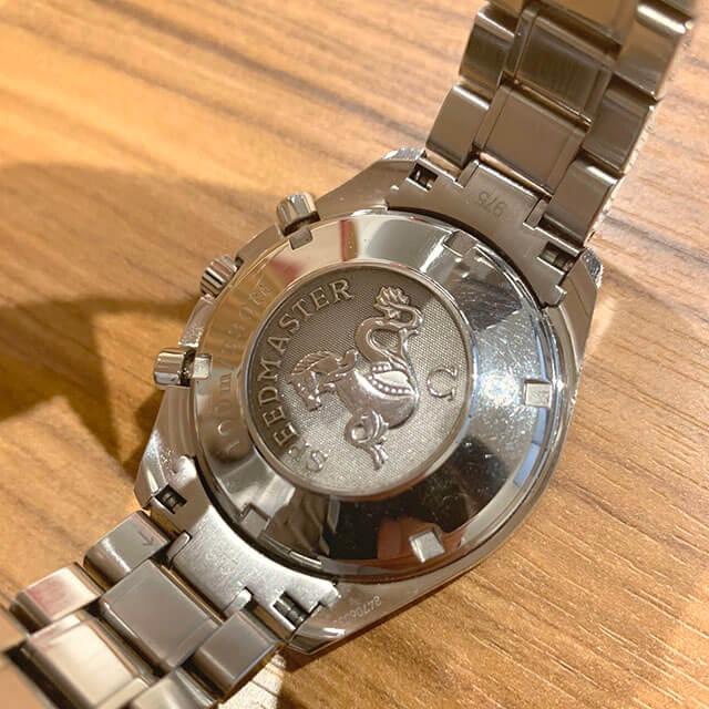 笠間のお客様からオメガの腕時計【スピードマスター】を買取_03
