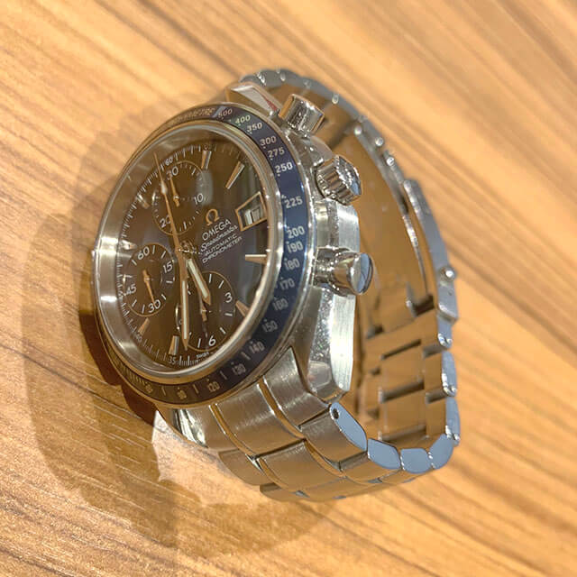笠間のお客様からオメガの腕時計【スピードマスター】を買取_04