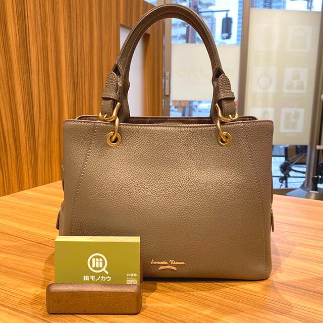 西九条のお客様からサマンサタバサの2wayバッグを買取_01