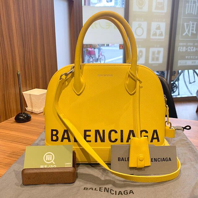 豊中のお客様からバレンシアガのバッグ【ヴィルトップハンドル】を買取_01