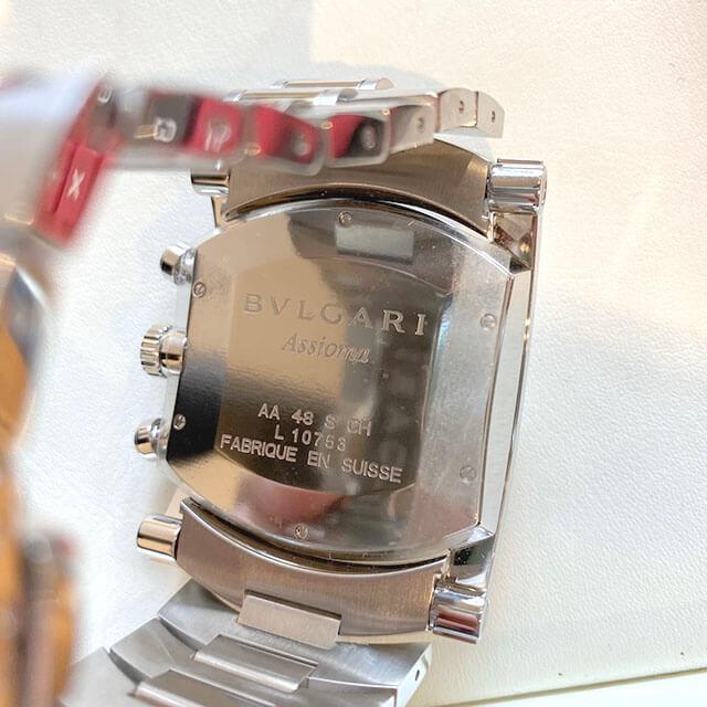 門真のお客様からブルガリの腕時計【アショーマ クロノ】を買取_03