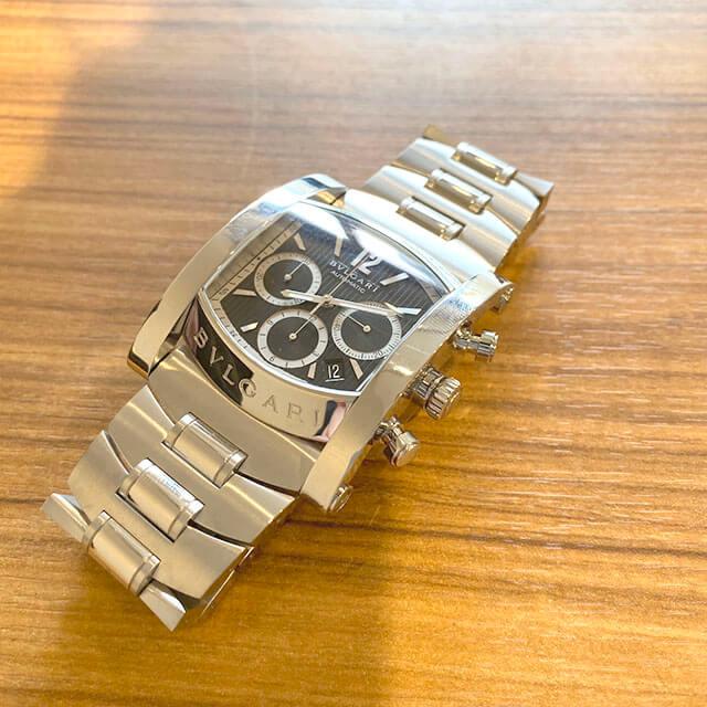 門真のお客様からブルガリの腕時計【アショーマ クロノ】を買取_04
