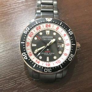 玉造のお客様からシチズンの腕時計【プロマスター】ラグビー日本代表モデルを買取