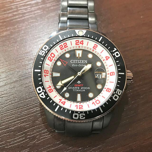 玉造のお客様からシチズンの腕時計【プロマスター】ラグビー日本代表モデルを買取_03