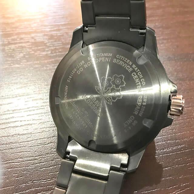 玉造のお客様からシチズンの腕時計【プロマスター】ラグビー日本代表モデルを買取_04