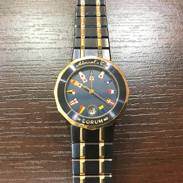 住之江のお客様からコルムの腕時計【アドミラルズカップ】を買取_02