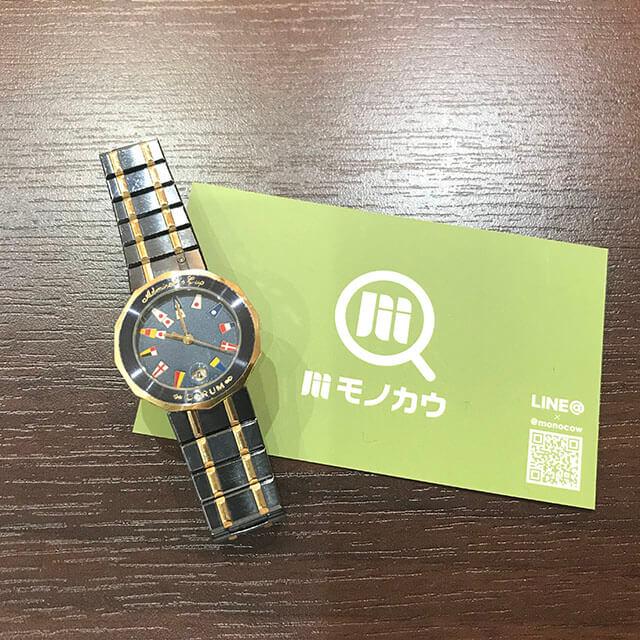 住之江のお客様からコルムの腕時計【アドミラルズカップ】を買取_01