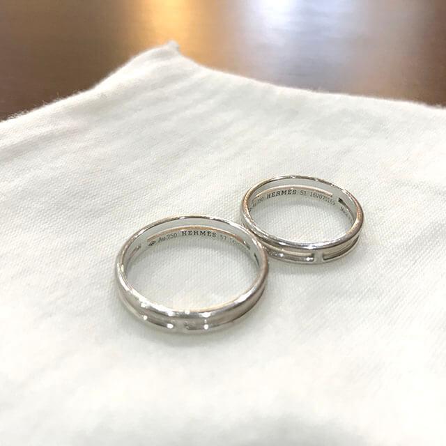 堺筋本町のお客様からエルメスの指輪【アリアンヌ】を買取_03