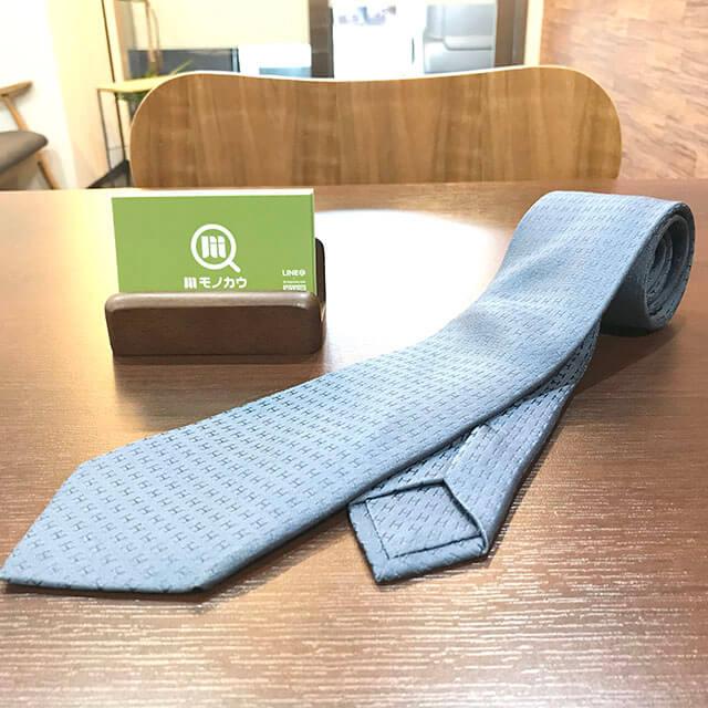 玉造のお客様からエルメスのネクタイを買取_01