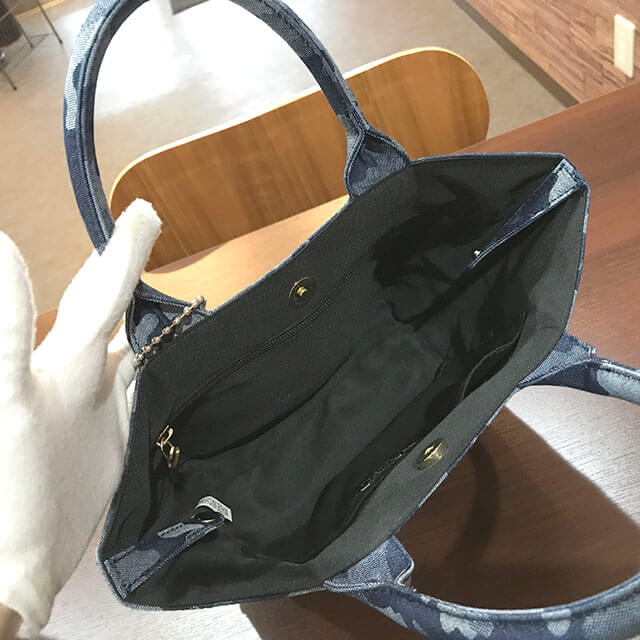 東花園のお客様からハイドロゲンのハンドバッグを買取_03