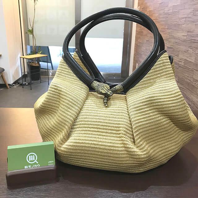 仙台のお客様からジミーチュウのハンドバッグを買取_01