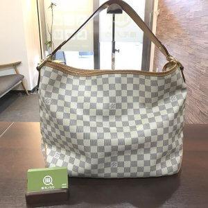鶴橋のお客様からヴィトンのダミエアズールのバッグ【ディライトフルPM】を買取