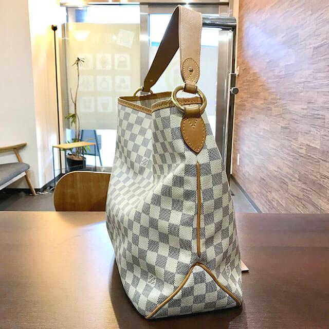 鶴橋のお客様からヴィトンのダミエアズールのバッグ【ディライトフルPM】を買取_02