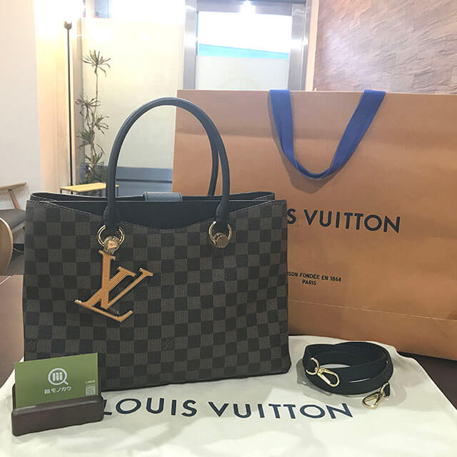 枚方のお客様からヴィトンの2wayバッグ【リバーサイド】を買取_01