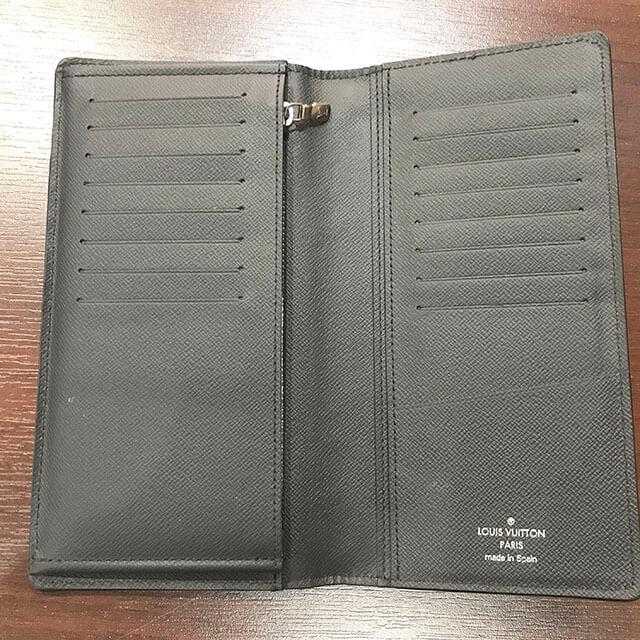 稲沢のお客様からヴィトンの長財布【ポルトフォイユ・ブラザ】を買取_02