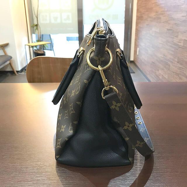 鶴橋のお客様からヴィトンのモノグラムのバッグ【パラスMM】を買取_02
