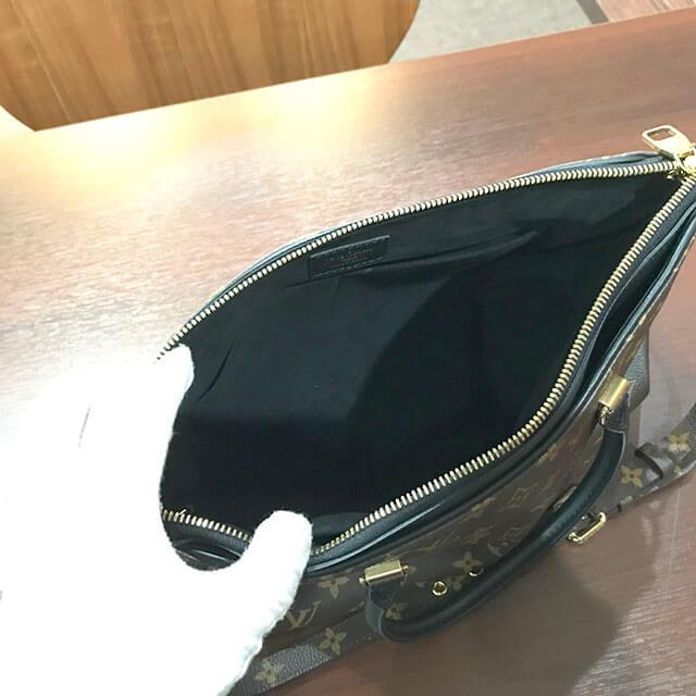 鶴橋のお客様からヴィトンのモノグラムのバッグ【パラスMM】を買取_03