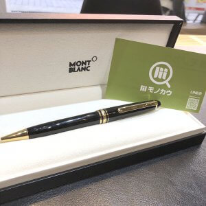 モンブランのボールペン【マイスターシュテュック】を買取(モノカウ心斎橋店)