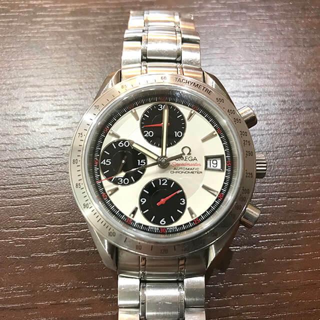 枚方のお客様からオメガの腕時計【スピードマスター】を買取_02