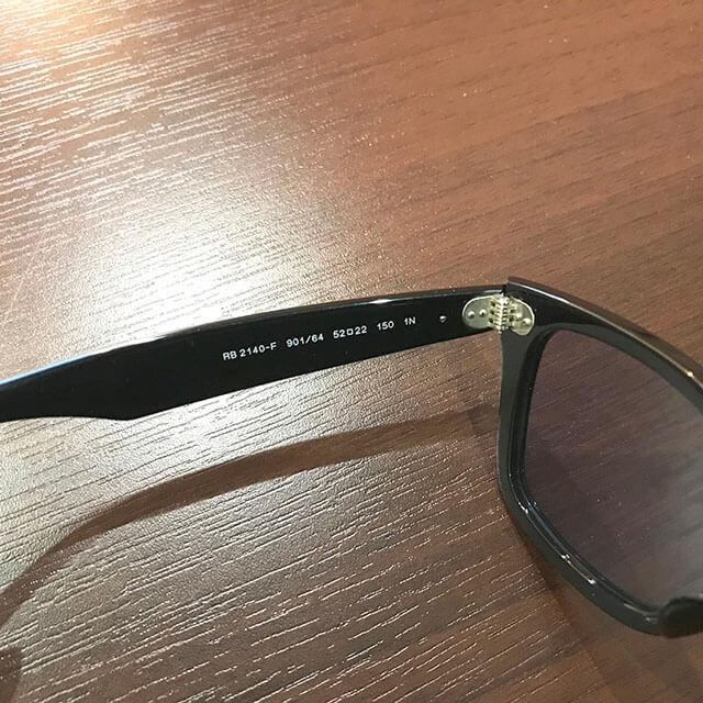 今福鶴見のお客様からレイバンのサングラス【ウェイファーラー】を買取_04