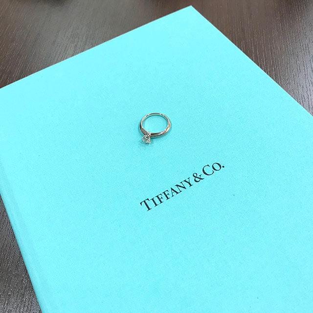 放出のお客様からティファニーの指輪【ソリティア】を買取_04