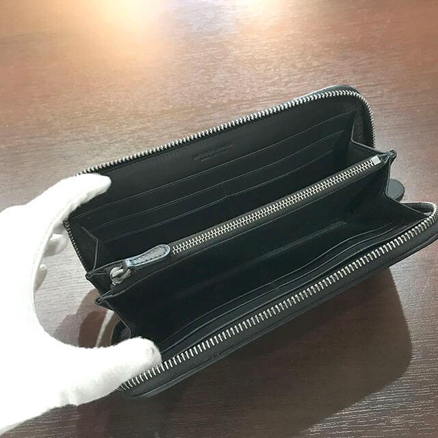 枚方のお客様からボッテガヴェネタの長財布を買取_03