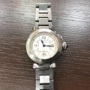 モノカウ玉造店にてカルティエの腕時計【ミスパシャ】を買取