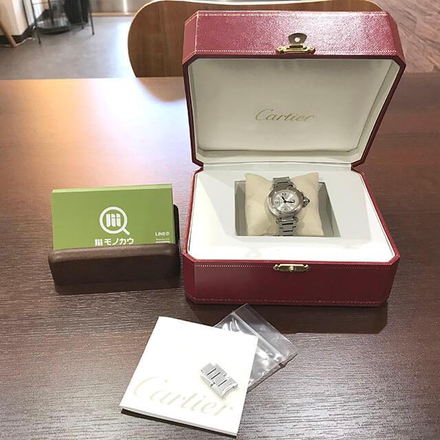 モノカウ玉造店にてカルティエの腕時計【ミスパシャ】を買取_04