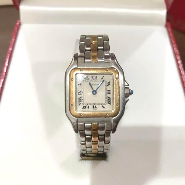 大阪のお客様からカルティエの腕時計【パンテール】を買取_02