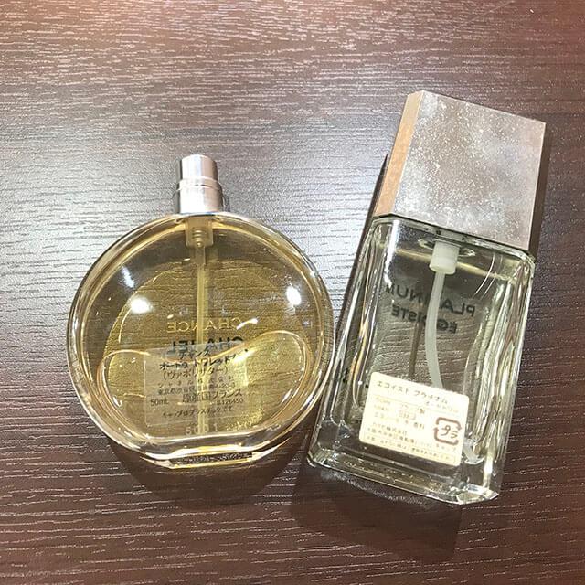 モノカウ緑橋店にて大阪のお客様からシャネルの香水セットを買取_02